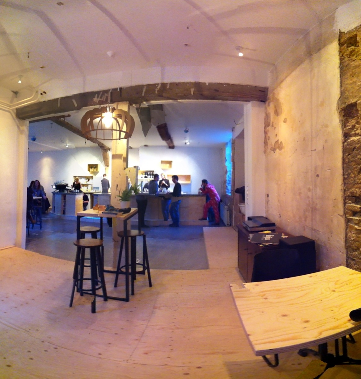 IndiePendants custom pendants at Barbaar Cafe and Makerspace, Netherlands