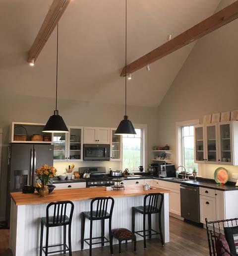 Kitchen lighting designed by Dwaal