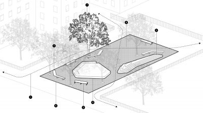 Process Diagram for Opening the Edge at Lillian Wald Housing