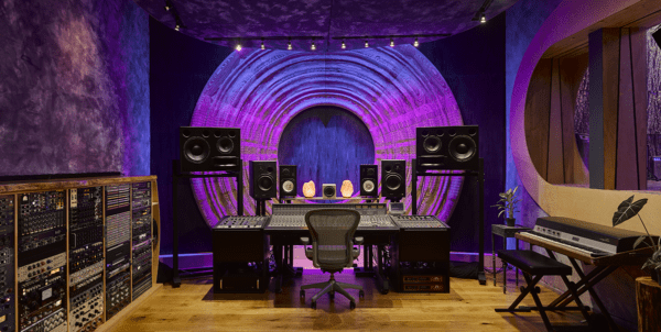 Dwaal - Electric Garden Studio - Mixing Room